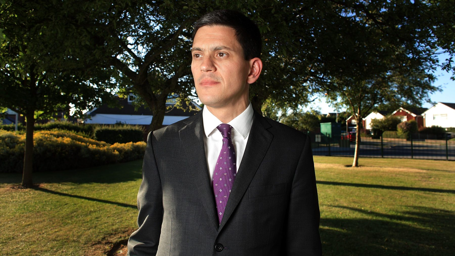 David Miliband poses for a portrait on June 24, 2010 in Wirral, England. (Christopher Furlong/Getty Images)