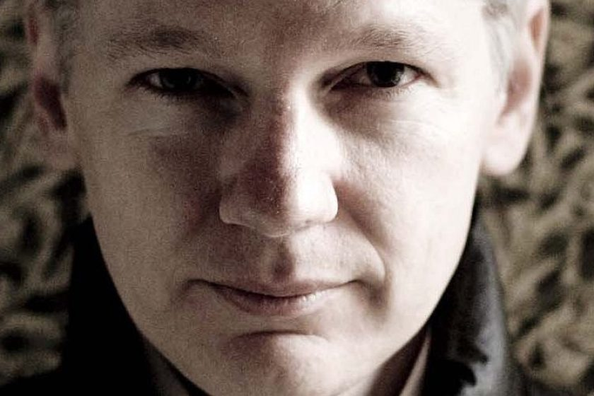 Wikileaks founder Julian Assange poses during a portrait shoot on May 21, 2010 in Melbourne, Australia. (Mark Chew/Fairfax Media via Getty Images).