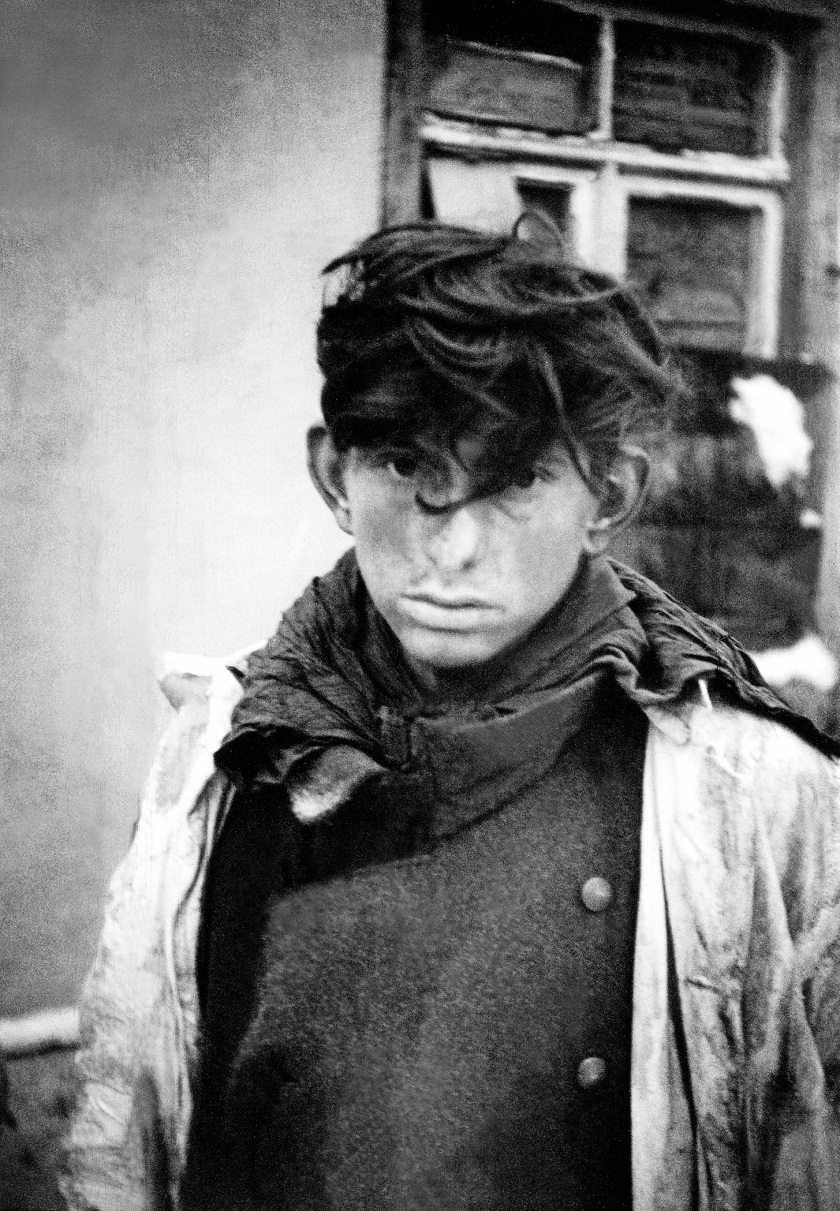 A young soldier of the Wehrmacht, taken prisoner by the Allies, Rochefort, Belgium, World War II, 29th December 1944. (Tony Vaccaro/Getty Images)