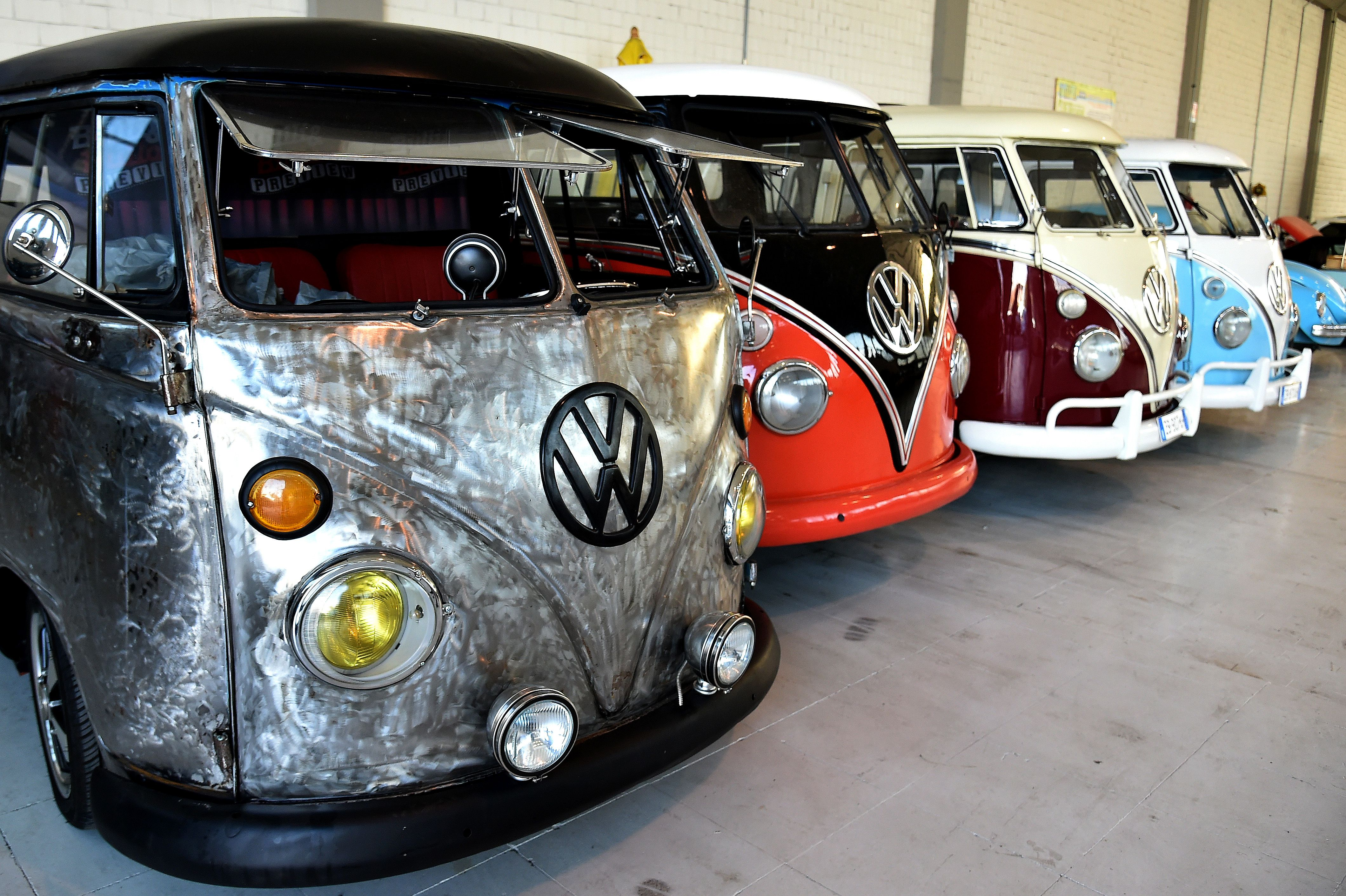 13b28a6a87 This Italian Company Restores Vintage Volkswagen Campers for Wealthy  Clients - InsideHook