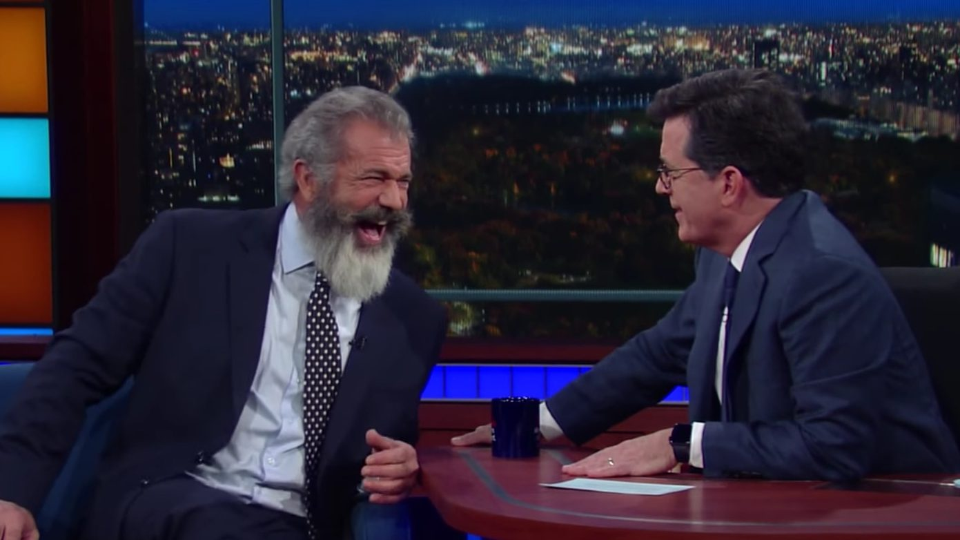 Mel Gibson Discusses New World War II Film 'Hacksaw Ridge' on 'Colbert'