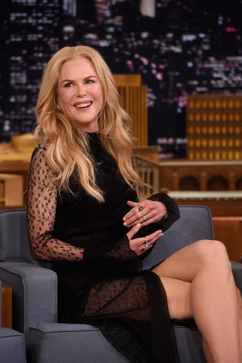 Nicole Kidman on Jimmy Fallon