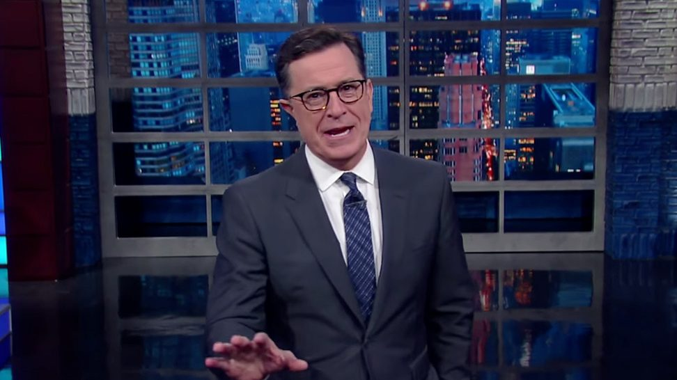 Listen as Stephen Colbert Does a Spot-On Impression of President-Elect Donald Trump