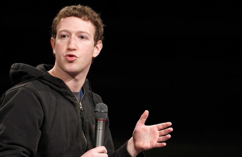 Mark Zuckerberg, co-founder and chief executive officer of Facebook Inc., speaks during an event at Brigham Young University in Provo, Utah, U.S., on Friday, March 25, 2011. Facebook Inc., owner of the most popular social-networking site, drew investors including Goldman Sachs Group Inc. in private stock sales that valued the company at $50 billion as of January. Photographer: George Frey/Bloomberg via Getty Images