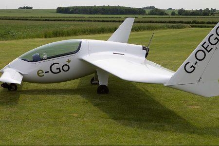 James Bond-Style Flat Pack e-Go Aircraft