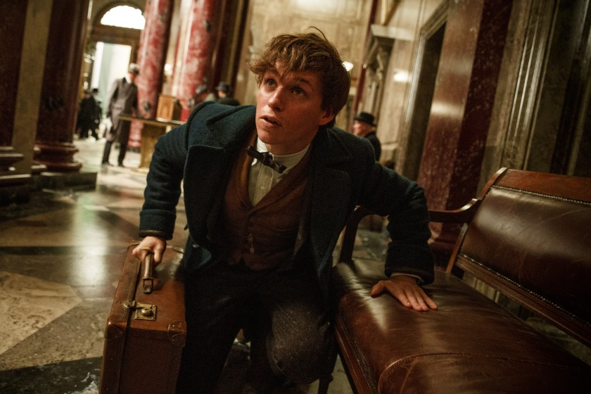 Eddie Redmayne stars in 'Fantastic Beasts and Where to Find Them' (Courtesy Warner Bros. Entertainment)