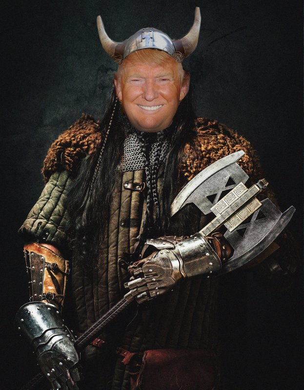 Trump Descendant of Viking