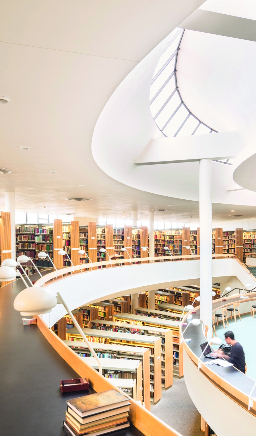 Pacific Northwest: Mount Angel Library, Alvar Aalto, Saint Benedict, OR, 1970. (Darren Bradley/Phaidon)