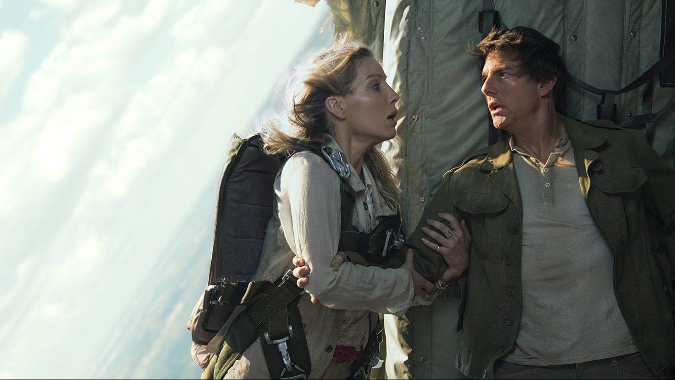 """ANNABELLE WALLIS and TOM CRUISE in a spectacular, all-new cinematic version of the legend that has fascinated cultures all over the world since the dawn of civilization: """"The Mummy.""""  From the sweeping sands of the Middle East through hidden labyrinths under modern-day London, """"The Mummy"""" brings a surprising intensity and balance of wonder and thrills in an imaginative new take that ushers in a new world of gods and monsters."""