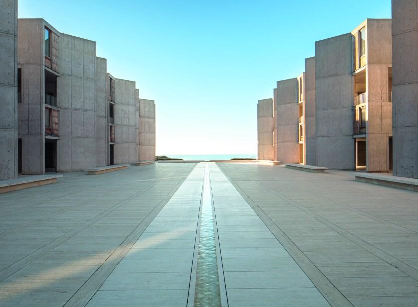 San Diego, CA: Salk Institute, Louis Kahn & Luis Barragán, 1963. (Darren Bradley/Phaidon)