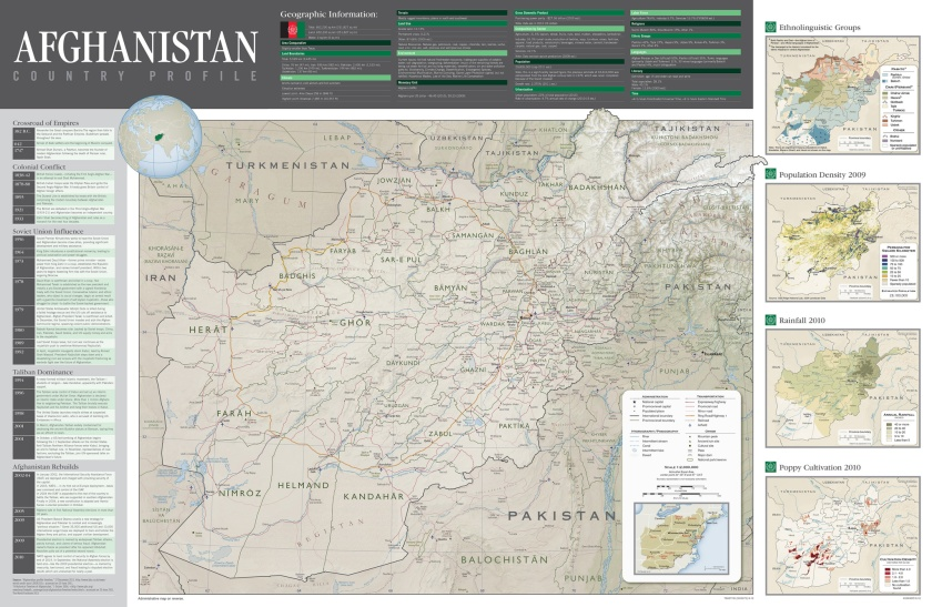 2012 Afghanistan Country Profile (Central Intelligence Agency)