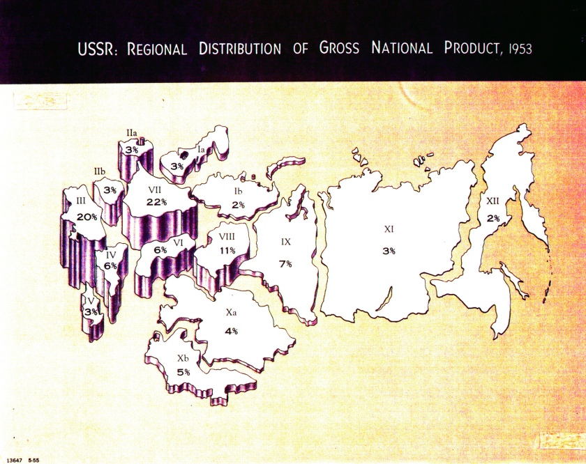 A macro look at the Soviet Union's economy in 1953. (Central Intelligence Agency)