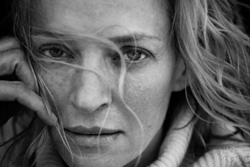 Uma Thurman (Peter Lindbergh/Courtesy Pirelli)