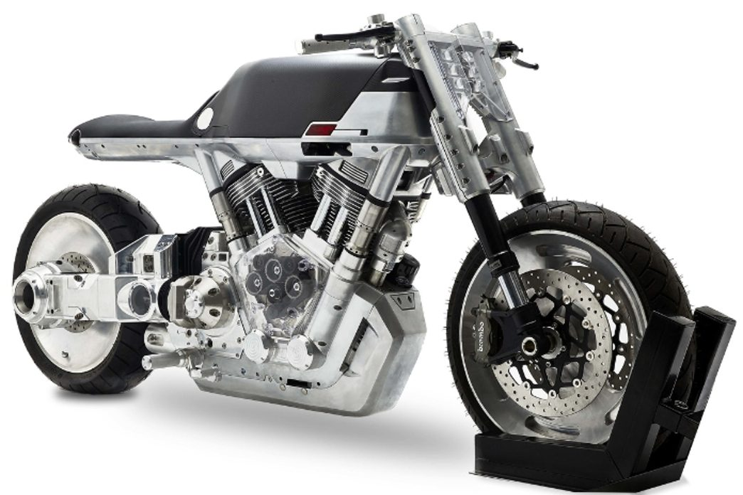 The new Roadster prototype from Vanguard of New York City (PRNewsFoto/Vanguard motorcycles)