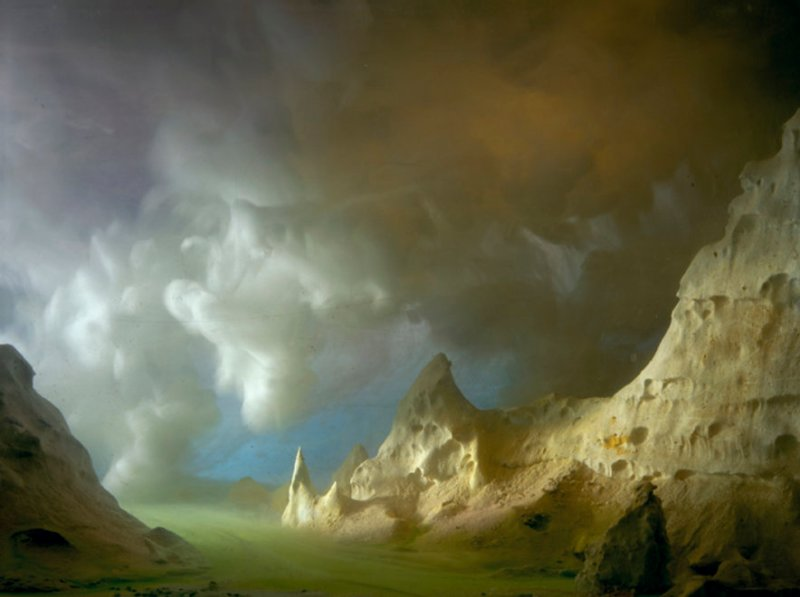 'Turtle Shell? Skull Rock' (Courtesy of Kim Keever/Waterhouse and Dodd Gallery)