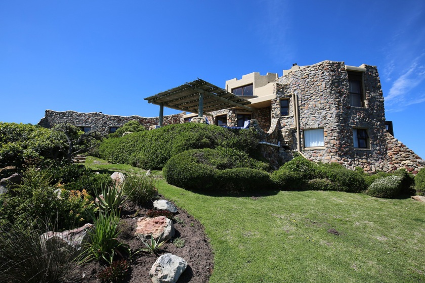 South African Castle on a Cliff