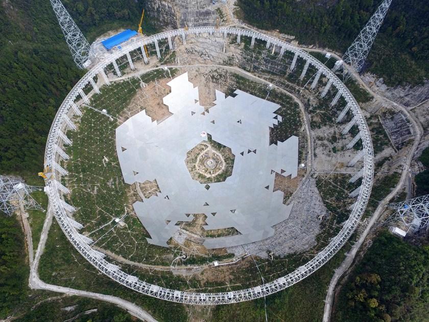 China Largest Radio Telescope in the World