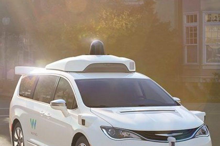 2017 Chrysler Pacifica Self-Driving Minivan