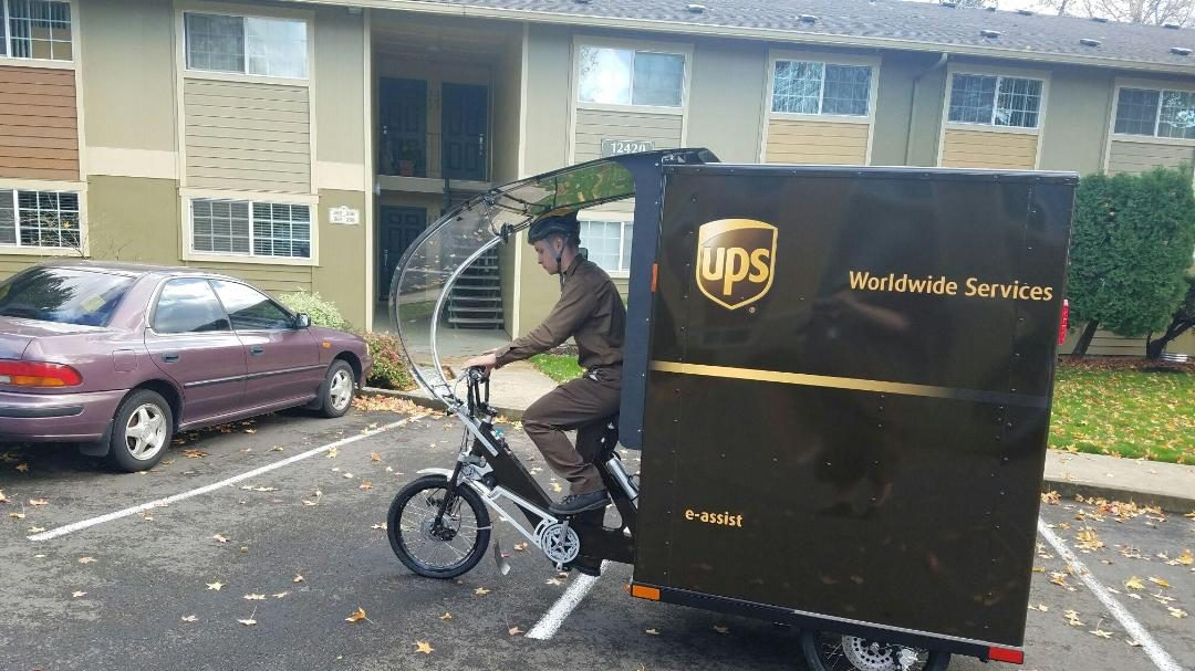 UPS Unveils Electric Tricycles for Delivery