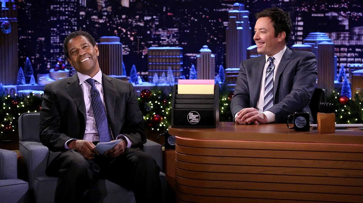 Denzel Washington on Jimmy Fallon