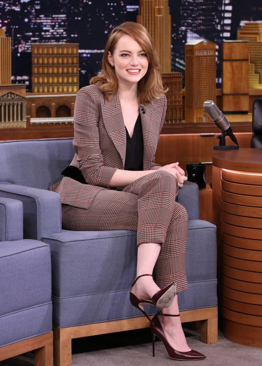 Emma Stone on The Tonight Show Starring Jimmy Fallon
