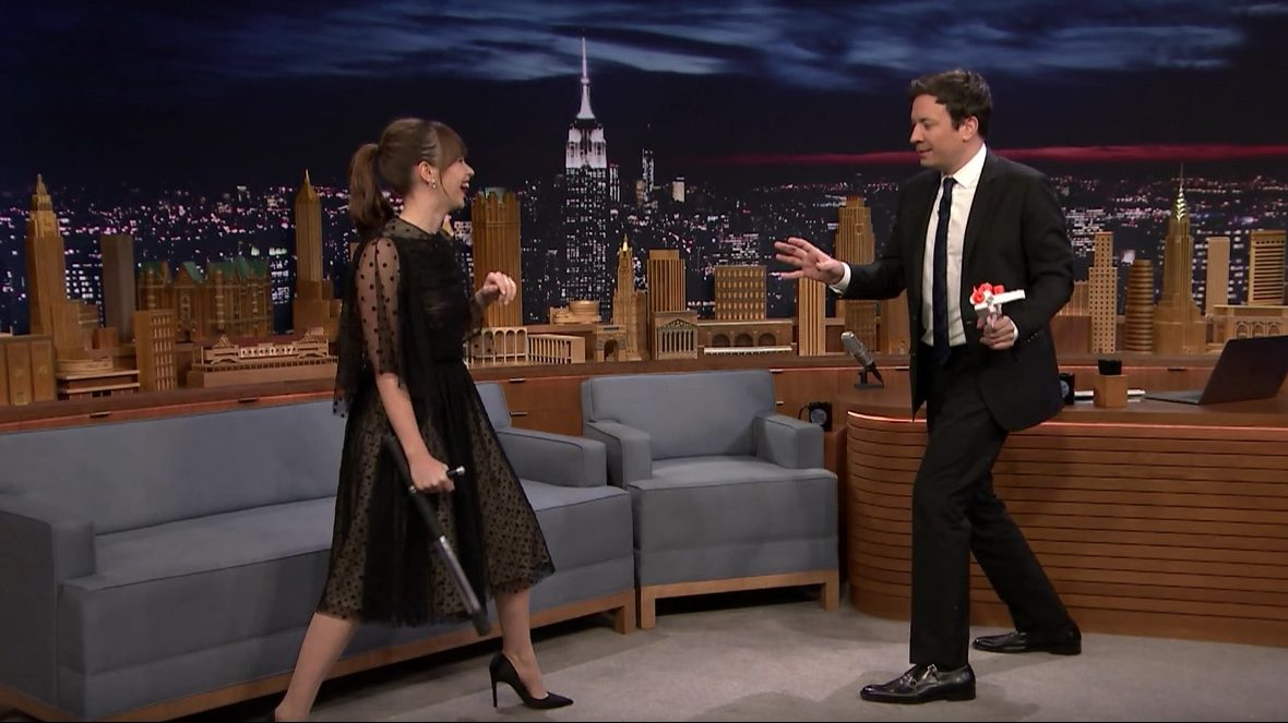 'Star Wars' Actress Felicity Jones Shows Off Her Fight Moves on 'Fallon'