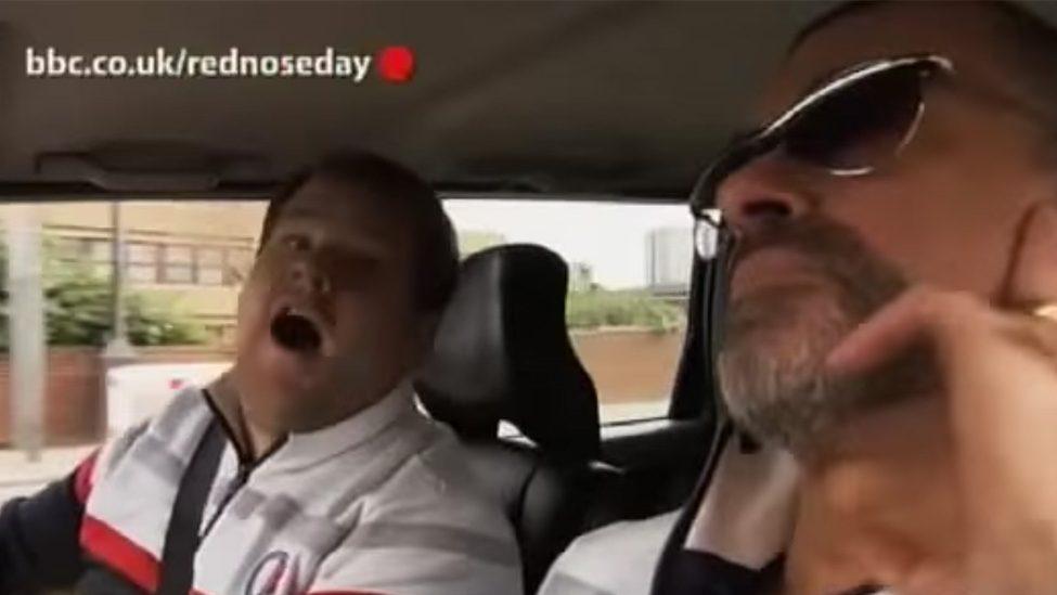 George Michael Starred in an Early Version of 'Carpool Karaoke'