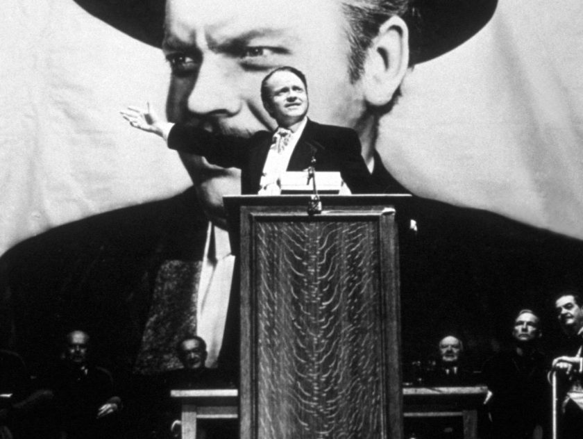 Orson Welles takes the lead role in his film 'Citizen Kane.' (Hulton Archive/Getty Images)