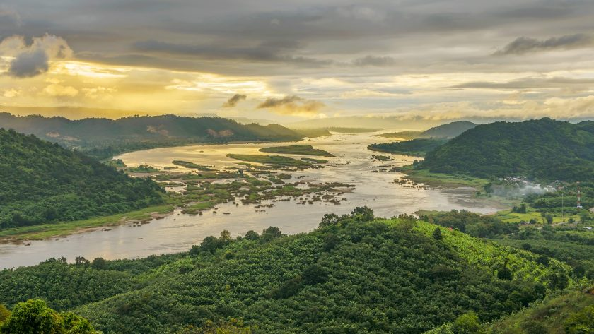 Mekong River as it winds through Thailand (Getty Images)