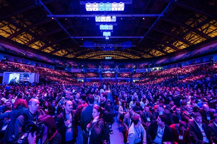 Web Summit Opening Ceremony on November 7, 2016 in Lisbon, Portugal. (Dan Taylor/Heisenberg Media/Getty Images News)