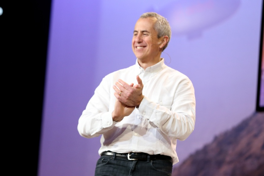 Union Square Hospitality Group CEO and Shake Shack Founder Danny Meyer speaks onstage during Setting the Table: The Transforming Power of Hospitailty In Business on November 19, 2016 in Los Angeles, California. (Todd Williamson/Getty Images for Airbnb)