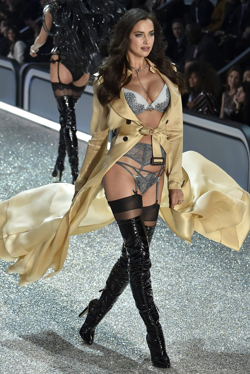 f196a190c7e Irina Shayk walks the runway during the 2016 Victoria s Secret Fashion Show  on November 30