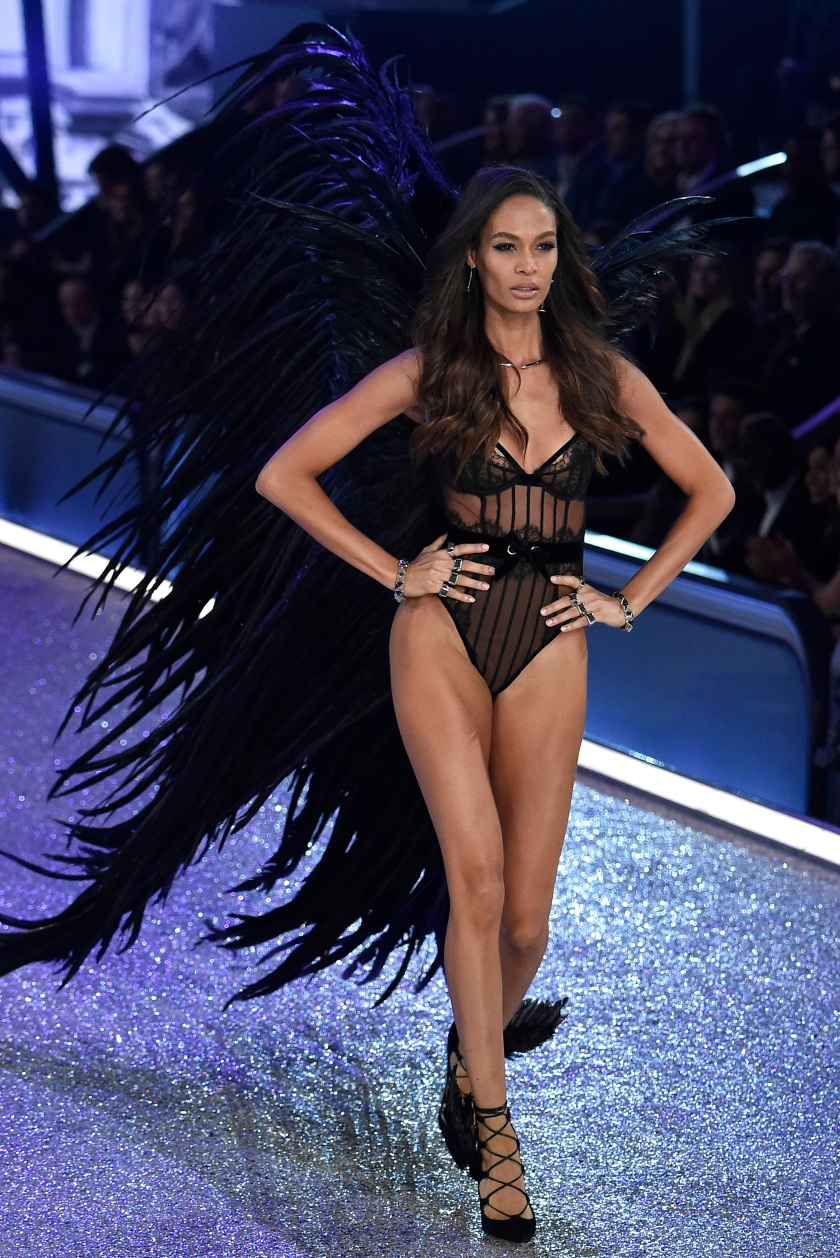 f2b7e76f5c1 Joan Smalls walks the runway during the 2016 Victoria s Secret Fashion Show  on November 30