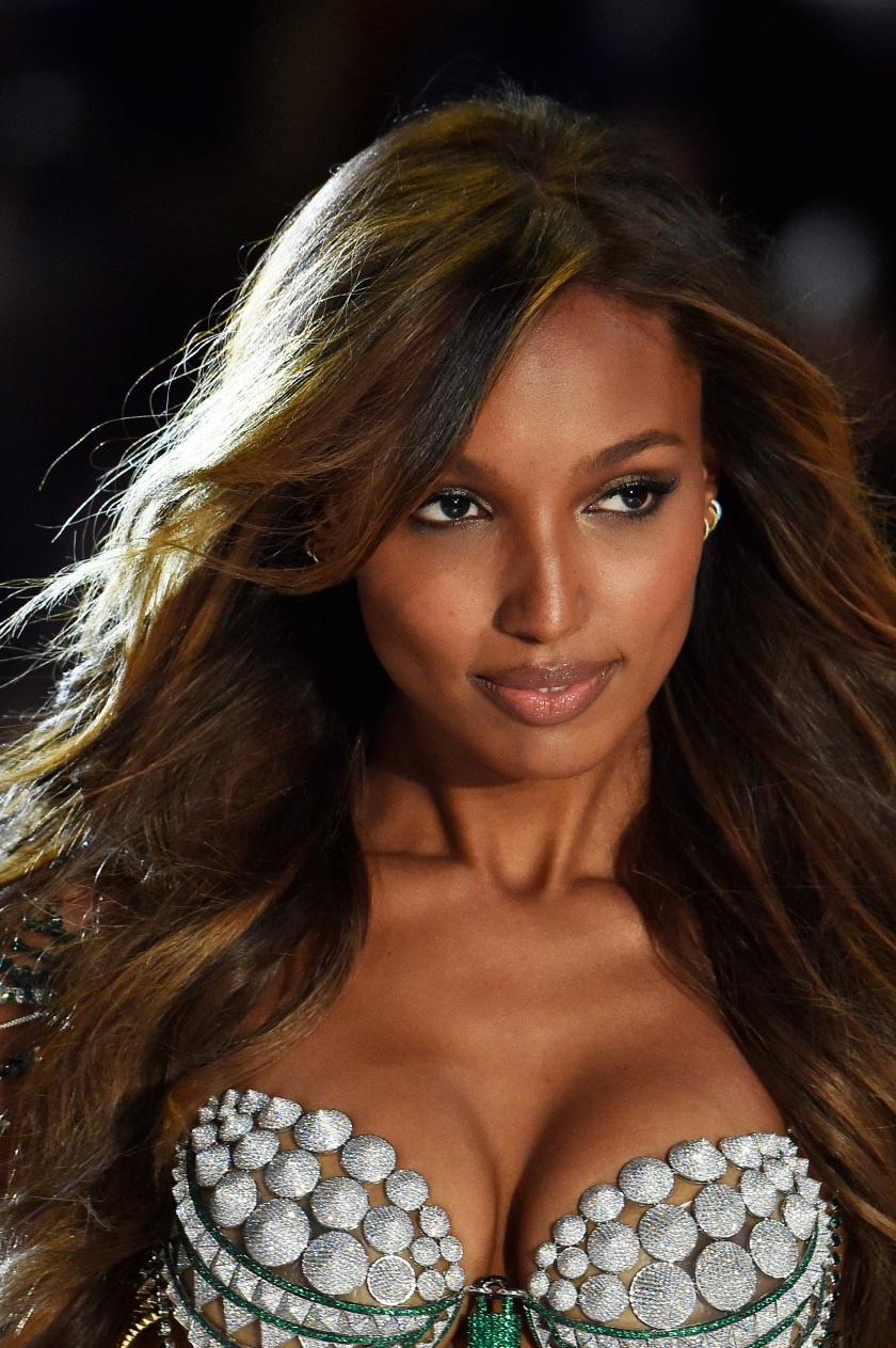 Jasmine Tooks walks the runway during the 2016 Victoria's Secret Fashion Show on November 30, 2016 in Paris, France. (Victor VIRGILE/Gamma-Rapho via Getty Images)