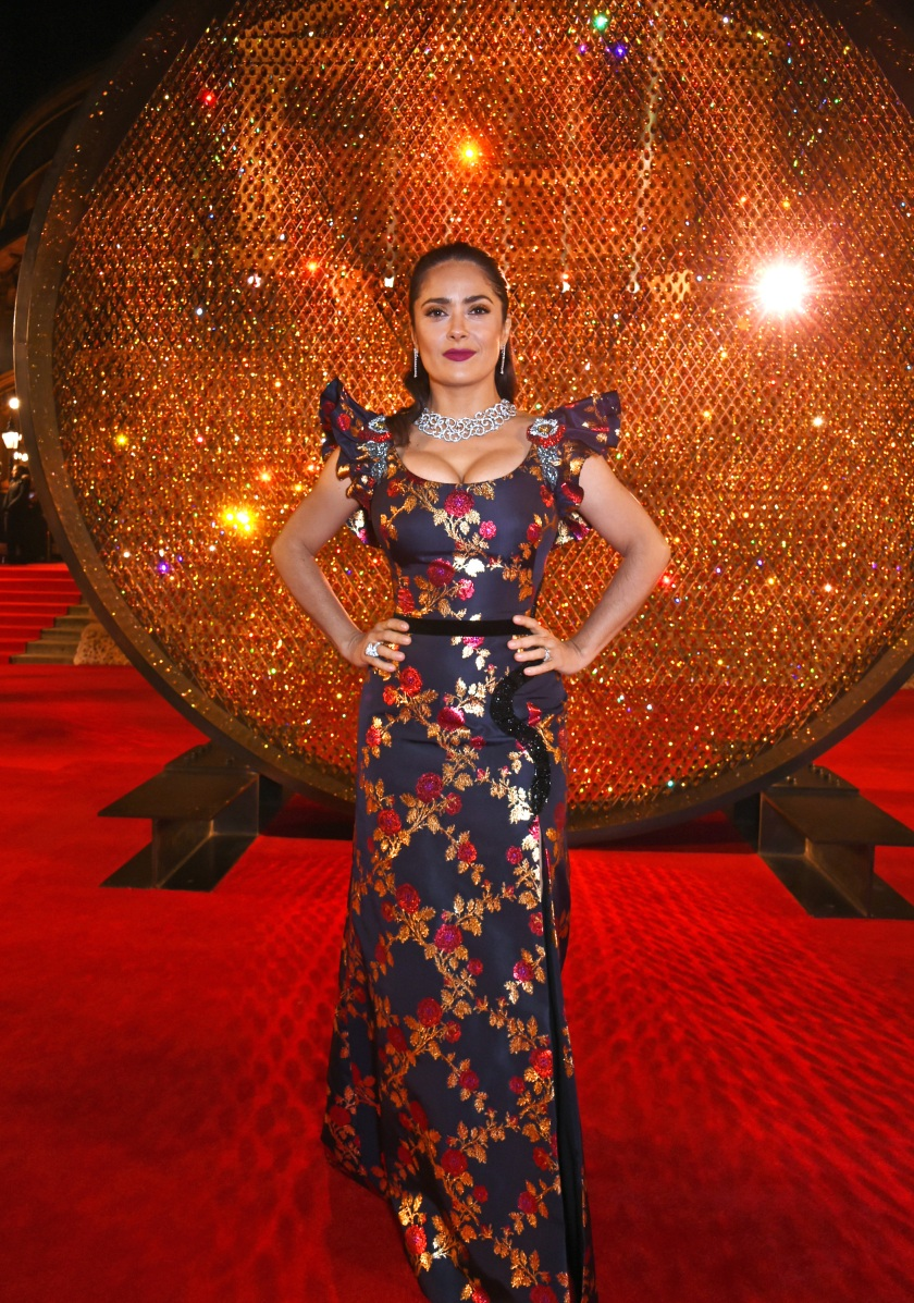Salma Hayek attends The Fashion Awards 2016 at Royal Albert Hall on December 5, 2016 in London, United Kingdom. (Photo by David M. Benett/Dave Benett/Getty Images)