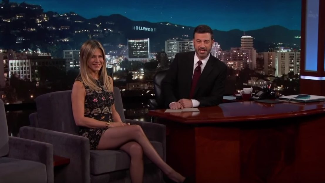 Jennifer Aniston Talks About What It Takes to Endure Office Christmas Parties