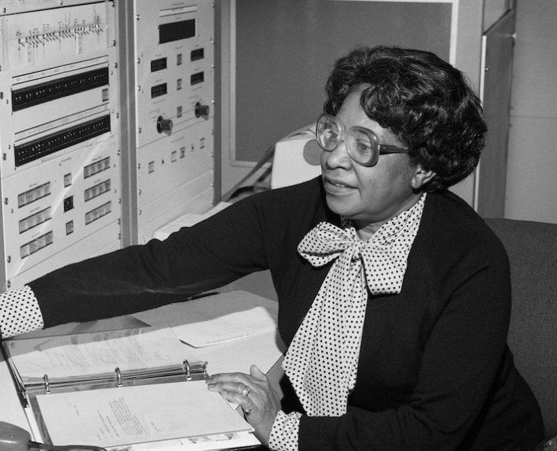 HAMPTON, VA - JANUARY 7: Mathmatician Mary Jackson, the first black woman engineer at NASA poses for a photo at work at NASA Langley Research Center on January 7, 1980 in Hampton, Virginia. (Photo by Bob Nye/NASA/Donaldson Collection/Getty Images)