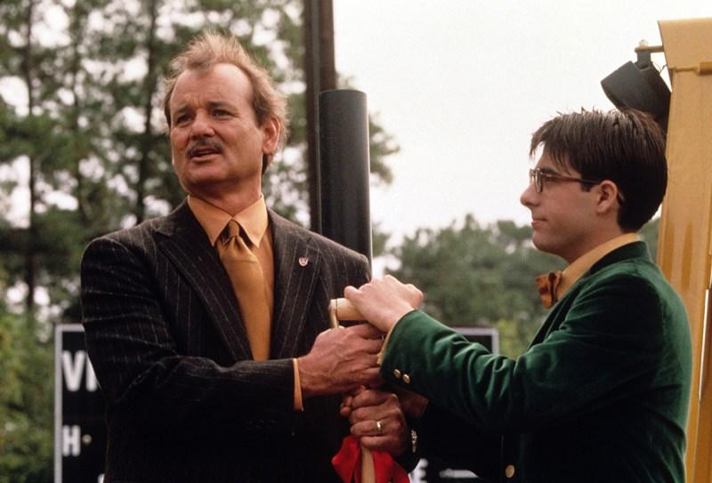 RUSHMORE, Bill Murray, Jason Schwartzman, 1998 (Everett Collection)
