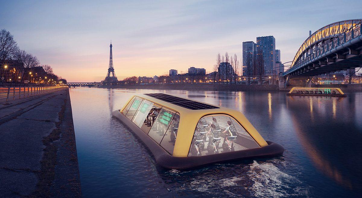 Paris Floating Gym