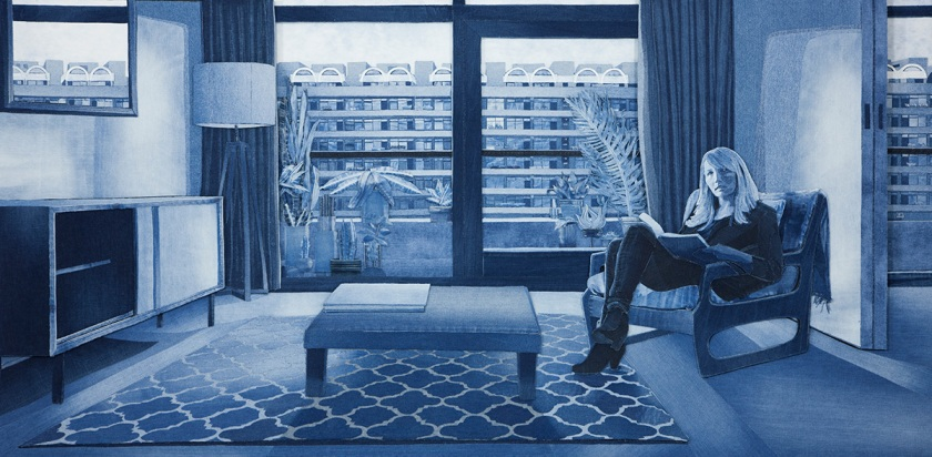Artist Who Uses Denim Jeans to Make Art