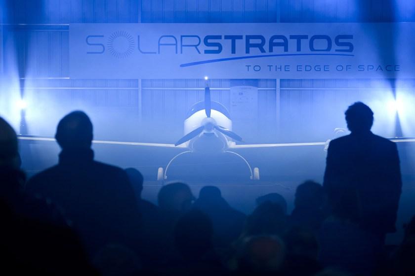 First Stratospheric Plane