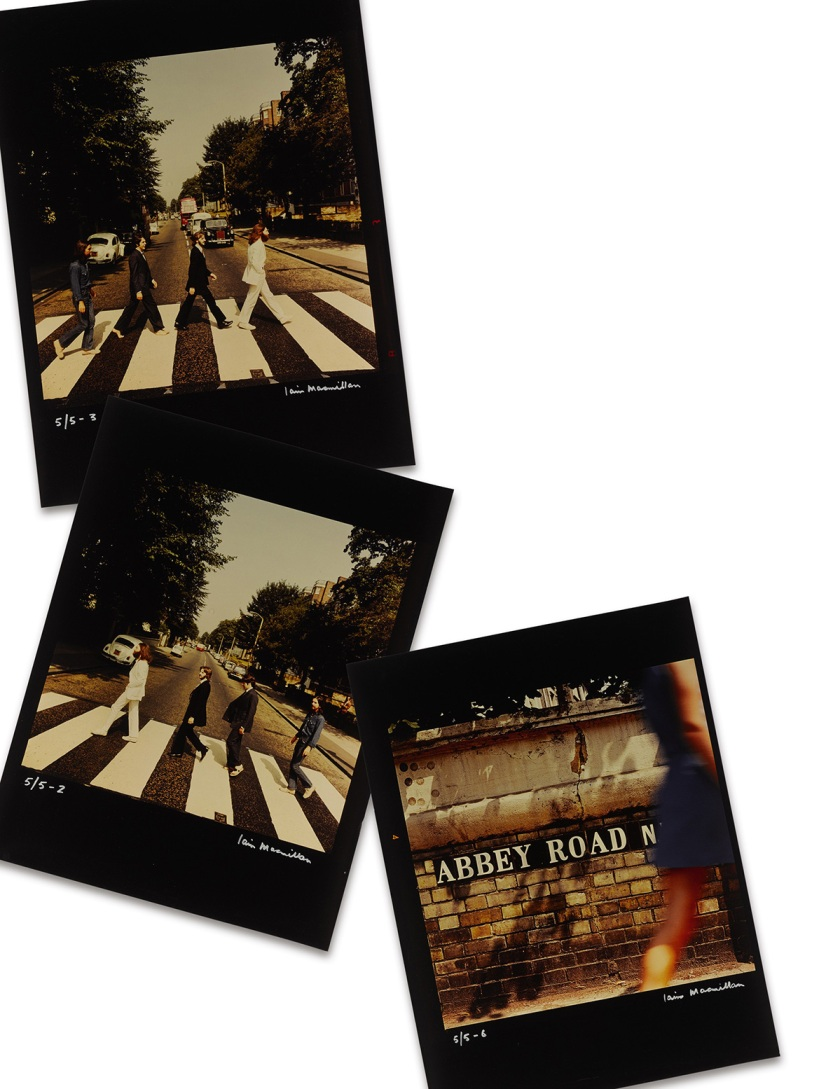 Beatles Abbey Road Cover Shot Outtakes