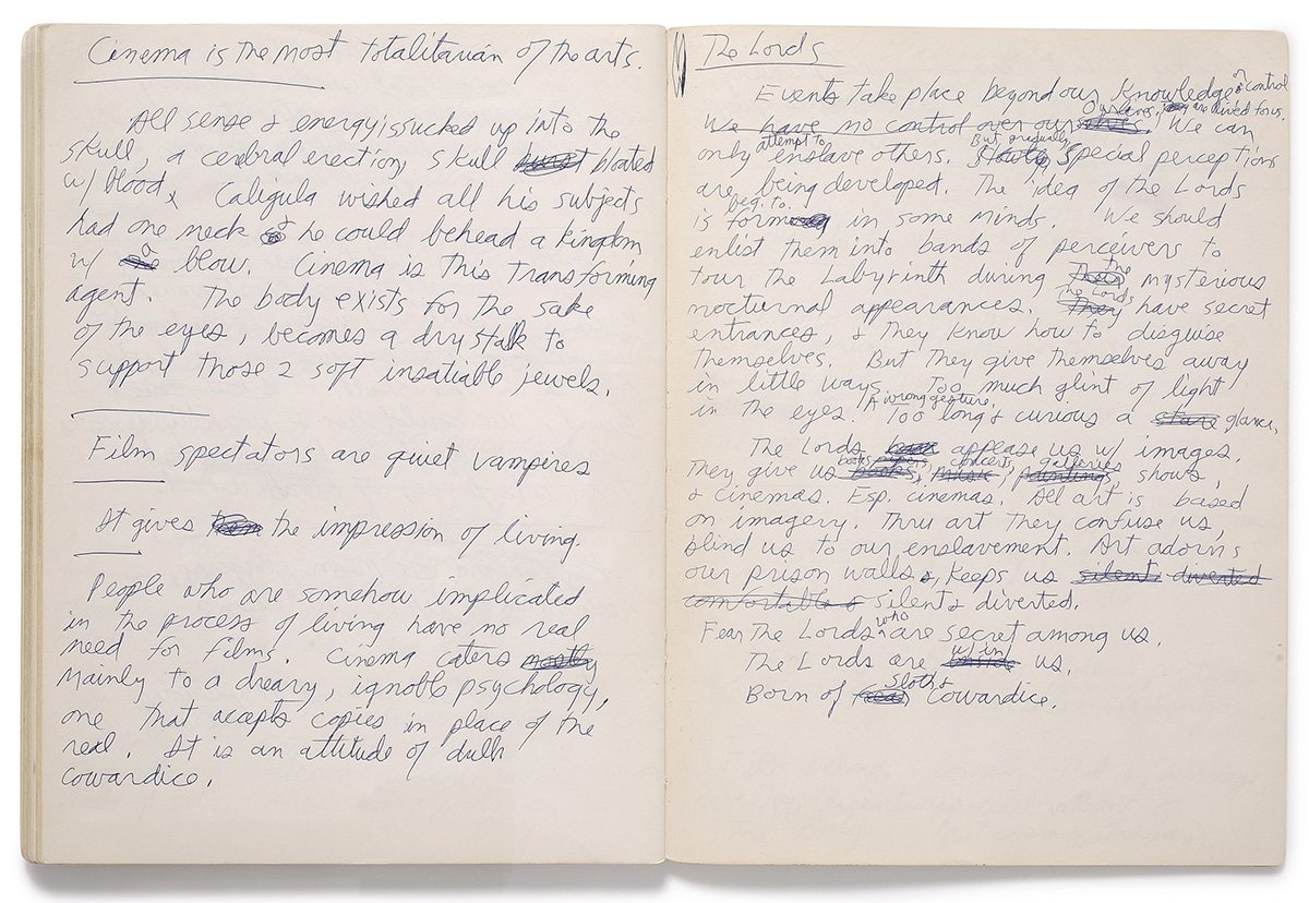 Jim Morrison Notebook
