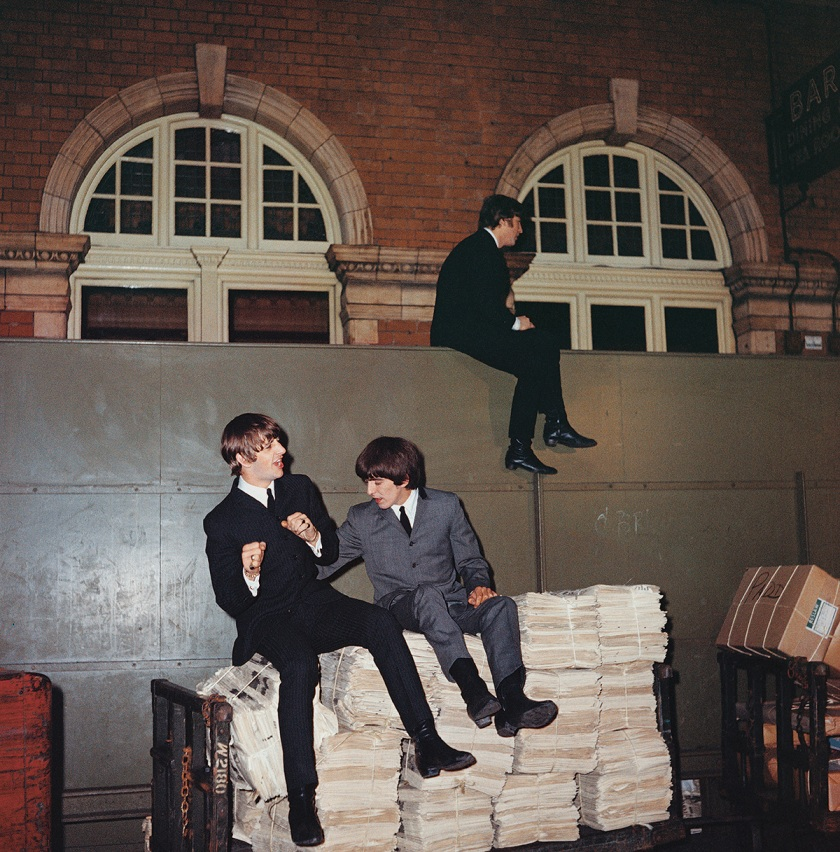 The Beatles on the set of 'A Hard Day's Night' (2016 Bruce and Martha Karsh/Courtesy of Phaidon)