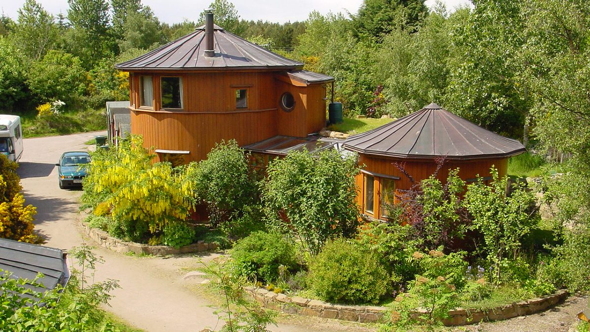Findhorn Ecovillage's Whiskey Barrel Houses