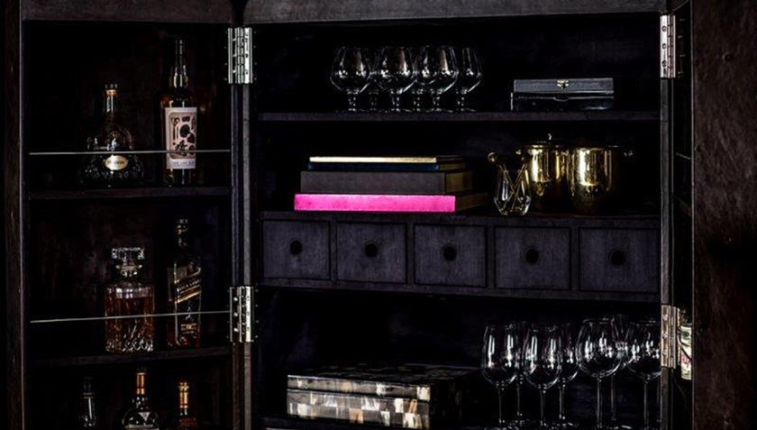 This Super-Expensive Bar Is the Finest Home Bar in the World (Timothy Oulton)