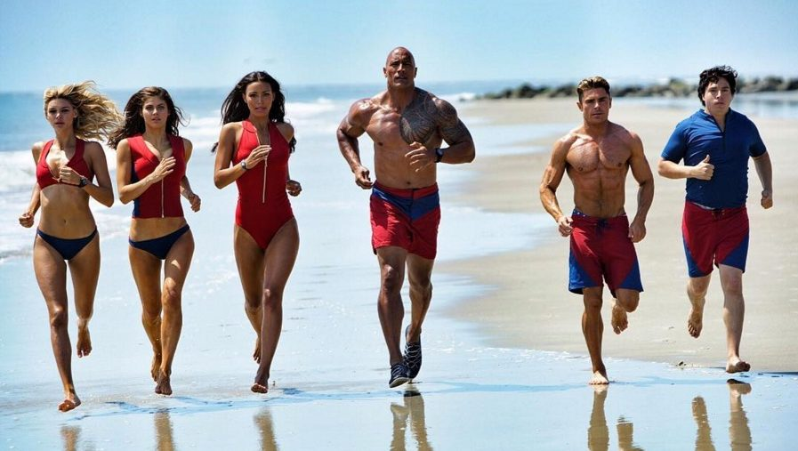 First Look at the New 'Baywatch' Reboot With Dwayne Johnson and Zac Efron