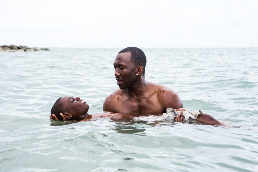 Alex Hibbert and Mahershala Ali in 'Moonlight' (Photo by David Bornfriend/Courtesy of A24)