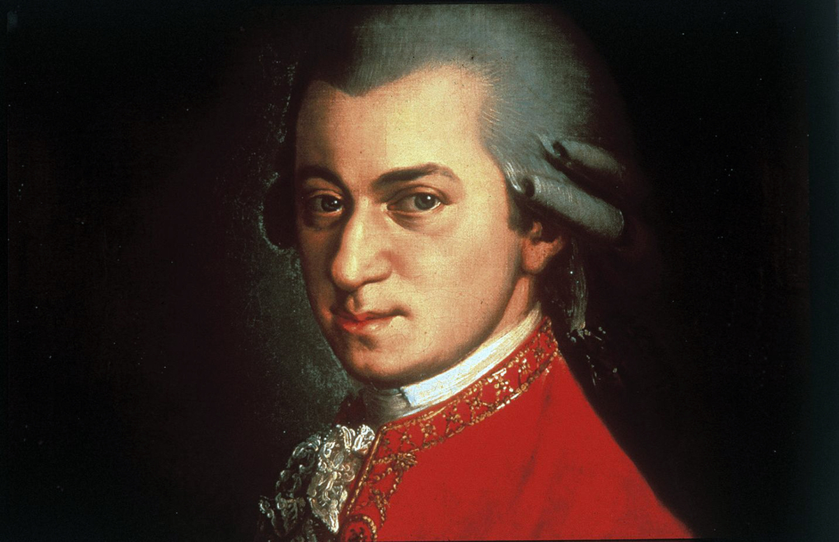 Portrait of Wolfgang Amadeus Mozart circa 1780 painted by Johann Nepomuk della Croce (Universal History Archive/Getty Images)