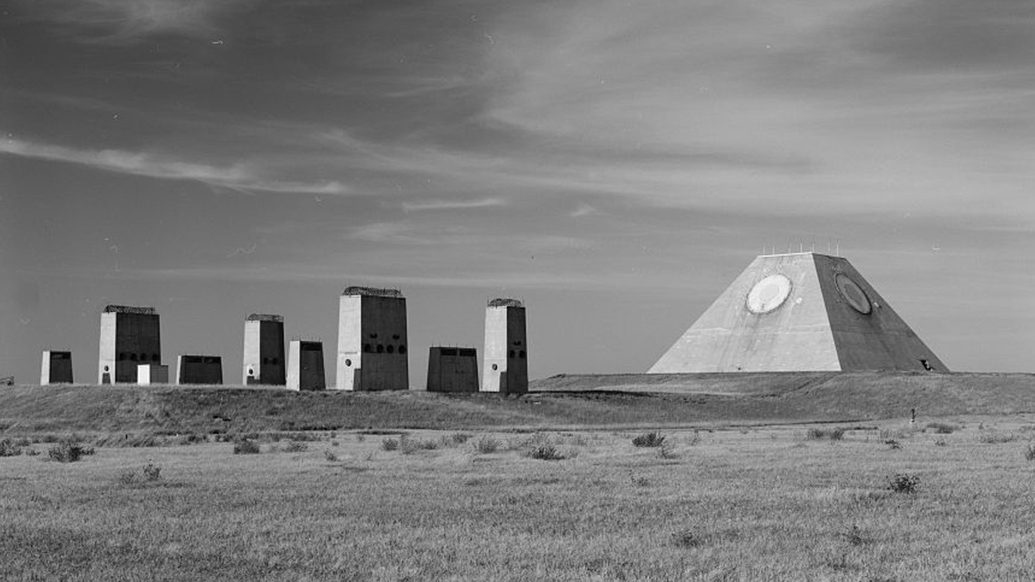Stanley R. Mickelsen Safeguard Complex in Nekoma,North Dakota (Library of Congress)